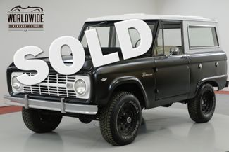 1967 Ford BRONCO RESTORED. V8. UNCUT! 4X4. MATTE BLACK. RARE.  | Denver, CO | Worldwide Vintage Autos in Denver CO