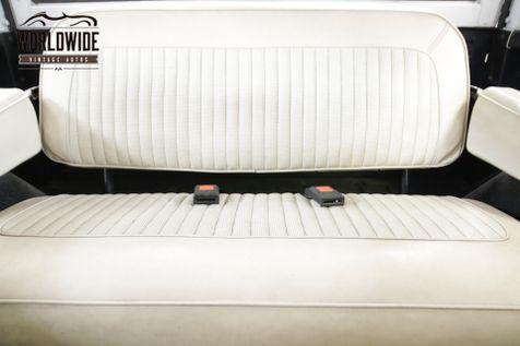 1967 Ford BRONCO RESTORED. V8. UNCUT! 4X4. MATTE BLACK. RARE.  | Denver, CO | Worldwide Vintage Autos in Denver, CO
