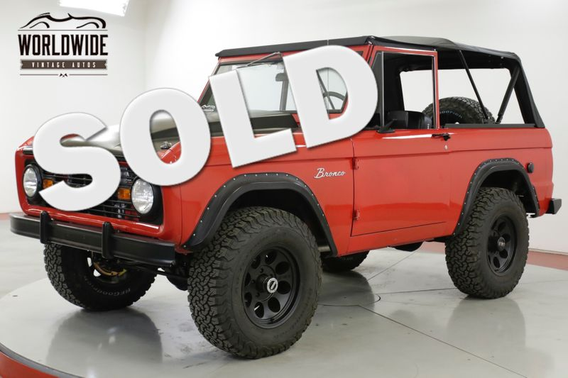 1967 Ford BRONCO  RESTORED 408 STROKER CRATE VINTAGE AC PS | Denver, CO | Worldwide Vintage Autos
