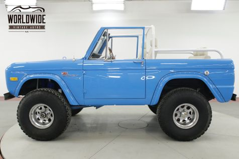 1967 Ford BRONCO RESTORED V8 PS PB DISC 4x4! 4K MILES MUST SEE | Denver, CO | Worldwide Vintage Autos in Denver, CO