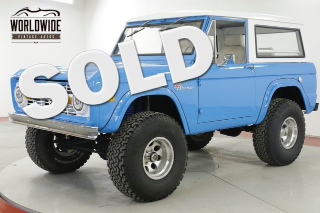 1967 Ford BRONCO RESTORED V8 PS PB DISC 4x4! 4K MILES MUST SEE | Denver, CO | Worldwide Vintage Autos in Denver CO