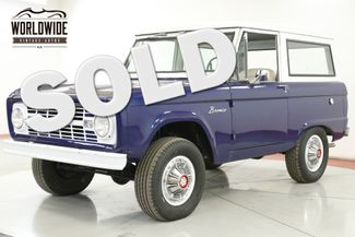 1967 Ford BRONCO UNCUT BODY 289V8 3SPD 4X4 CONVERTIBLE TOP  | Denver, CO | Worldwide Vintage Autos in Denver CO