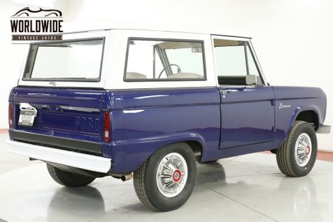 1967 Ford BRONCO UNCUT BODY 289V8 3SPD 4X4 CONVERTIBLE TOP  | Denver, CO | Worldwide Vintage Autos in Denver, CO