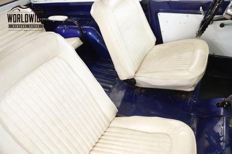 1967 Ford BRONCO UNCUT BODY 289V8 3SPD 4X4 CONVERTIBLE TOP  | Denver, CO | Worldwide Vintage Autos in Denver, CO