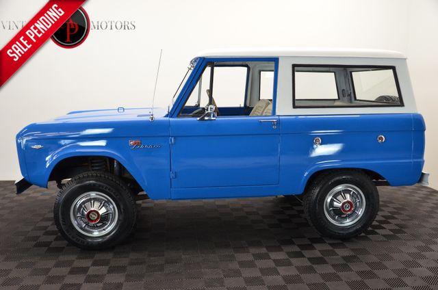1967 Ford BRONCO UNCUT V8 4X4 RESTORED HARD TOP