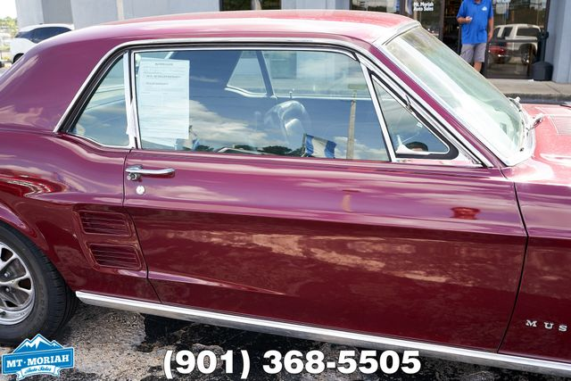 1967 Ford Mustang 2 Door Hardtop 289 2 BBL in Memphis, Tennessee 38115