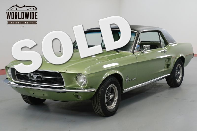 1967 Ford MUSTANG 3,500 MILES ON ENGINE REBUILD  | Denver, CO | Worldwide Vintage Autos