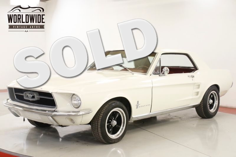 1967 Ford MUSTANG  302 V8 5SPD FRONT DISC DUAL EXHAUST PS | Denver, CO | Worldwide Vintage Autos