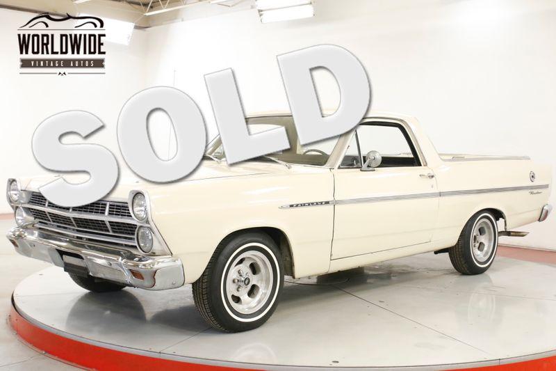 1967 Ford RANCHERO RARE V8 1 YEAR ONLY AUTO UPGRADES | Denver, CO | Worldwide Vintage Autos