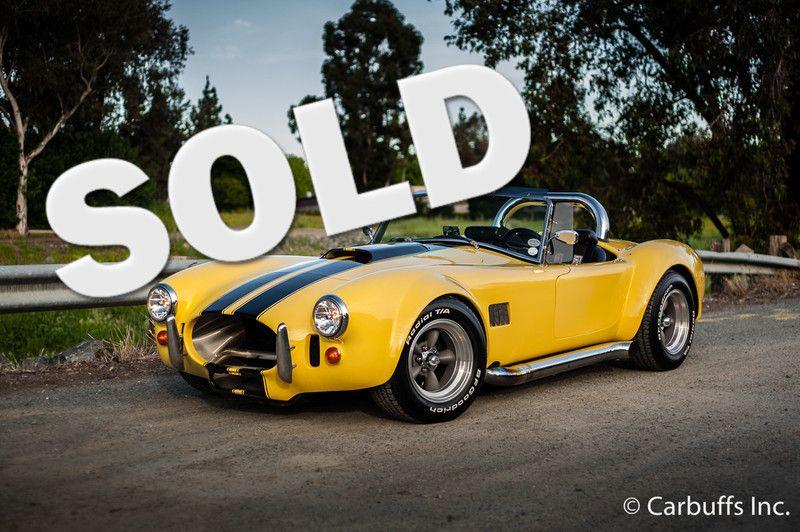 1967 Ford Shelby Cobra Replica    Concord, CA   Carbuffs