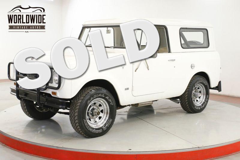 1967 International SCOUT 800 RARE V8 4X4 CONVERTIBLE 65K ORIGINAL MILES! | Denver, CO | Worldwide Vintage Autos