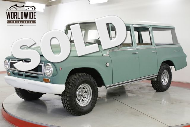1967 International TRAVELALL 1100B ULTRA RARE 4x4 TIME CAPSULE 86K MI  | Denver, CO | Worldwide Vintage Autos in Denver CO