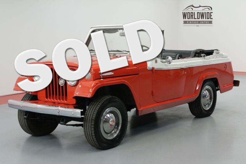 1967 Jeep JEEPSTER CABRIOLET BODY 6 CYL MANUAL 4X4   Denver, CO   Worldwide Vintage Autos