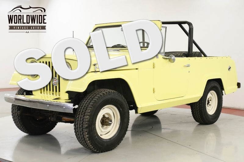 1967 Jeep JEEPSTER COMMANDO V6 4X4 PB AUTO CONVERTIBLE | Denver, CO | Worldwide Vintage Autos