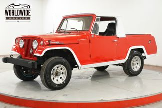 1967 Jeep JEEPSTER  COMMANDO V8 2 DOOR 1/2 CAB TRUCK COLLECTOR   | Denver, CO | Worldwide Vintage Autos in Denver CO