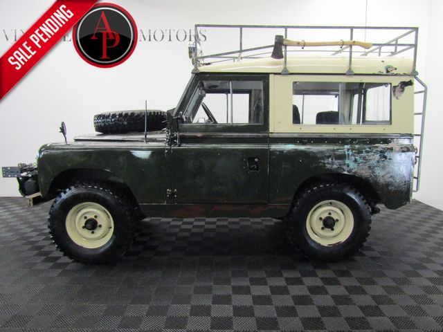 1967 Land Rover SERIES 2A CRATE MOTOR W/ OVERDRIVE