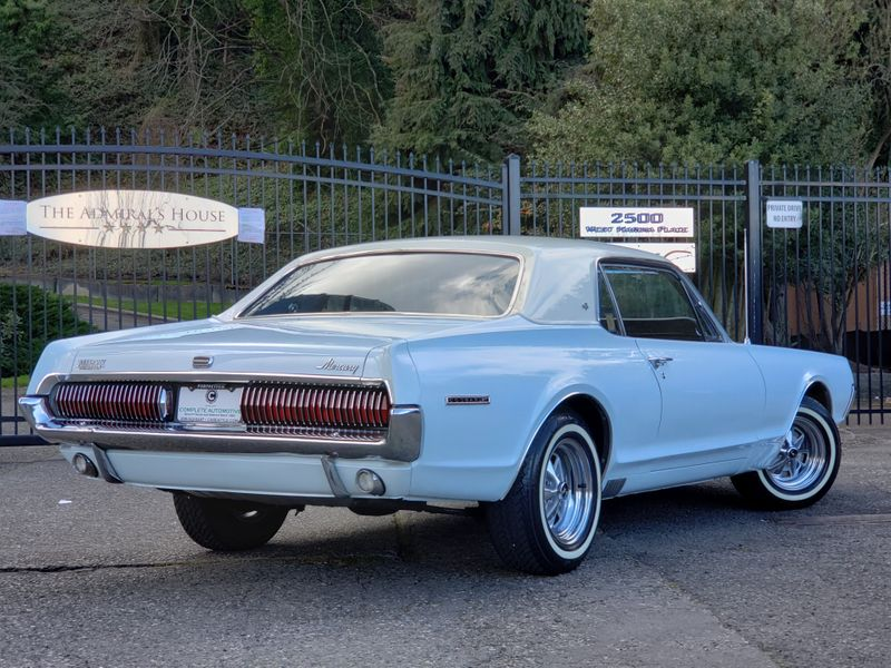 1967 Mercury Cougar XR-7 Very Rare 1 of 4 With This Color Combo Per Marti   city Washington  Complete Automotive  in Seattle, Washington