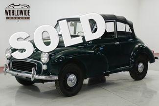 1967 Morris MINOR 1000 RARE CONVERTIBLE PERFECT FOR THE SUMMER | Denver, CO | Worldwide Vintage Autos in Denver CO