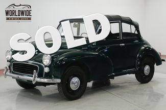 1967 Morris MINOR 1000 RARE CONVERTIBLE PERFECT FOR THE SUMMER | Denver, CO | Worldwide Vintage Autos in Denver CO