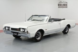 1967 Oldsmobile 442 CONVERTIBLE 400 V8 FACTORY 4 SPEED MANUAL RARE | Denver, CO | Worldwide Vintage Autos in Denver CO