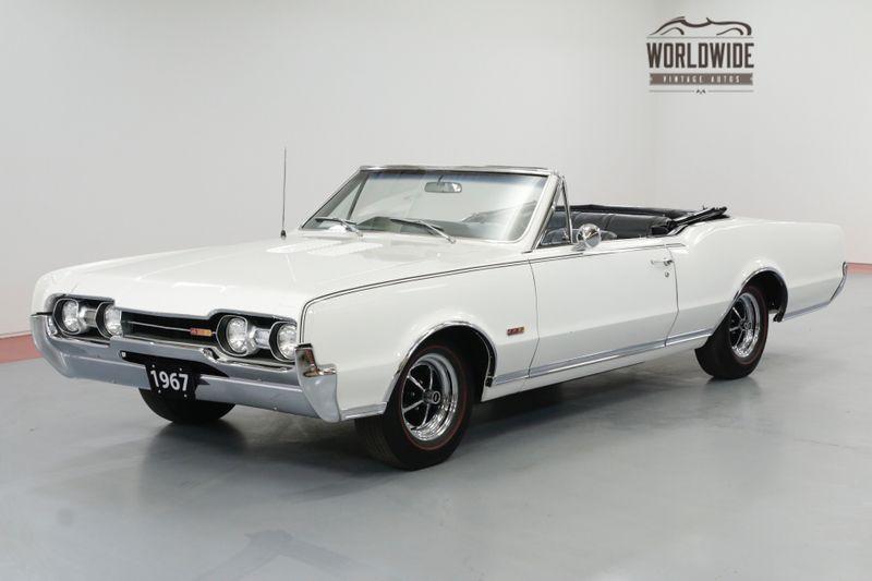 1967 Oldsmobile 442 CONVERTIBLE 400 V8 FACTORY 4 SPEED MANUAL RARE | Denver, CO | Worldwide Vintage Autos