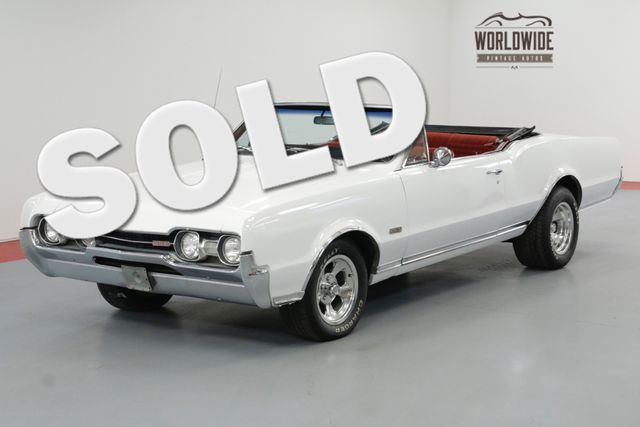 1967 Oldsmobile 442 CONVERTIBLE. RARE. 400V8! AUTOMATIC MUST SEE | Denver, CO | Worldwide Vintage Autos in Denver CO