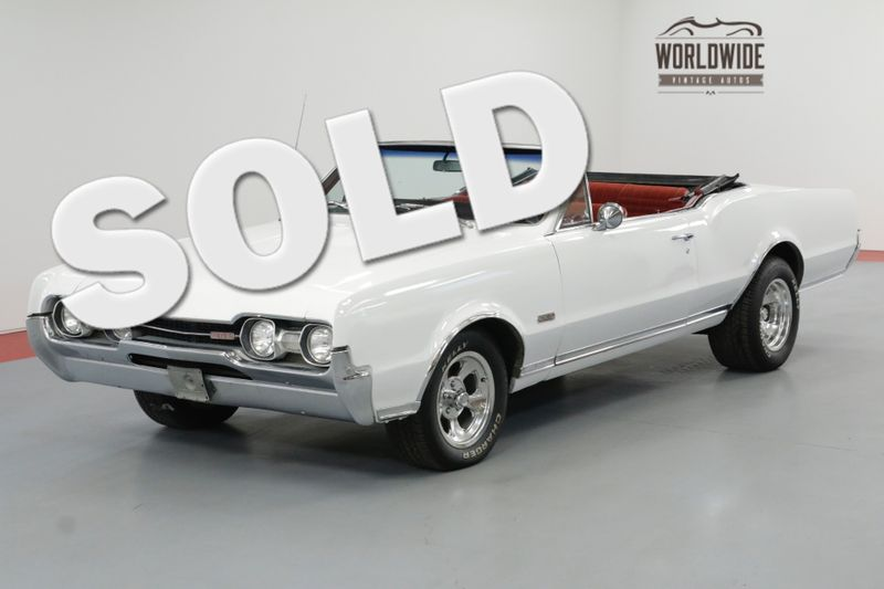 1967 Oldsmobile 442 CONVERTIBLE. RARE. 400V8! AUTOMATIC MUST SEE | Denver, CO | Worldwide Vintage Autos