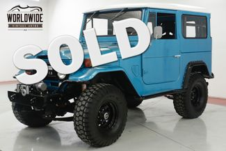 1967 Toyota LAND CRUISER FJ40. 350 V8! WINCH! LIFTED! MUST SEE  | Denver, CO | Worldwide Vintage Autos in Denver CO