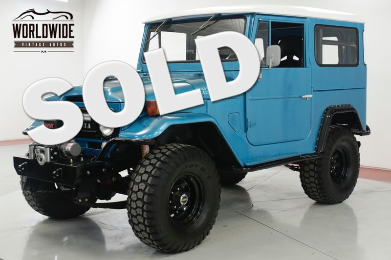 1967 Toyota LAND CRUISER FJ40. 350 V8! WINCH! LIFTED! MUST SEE  | Denver, CO | Worldwide Vintage Autos