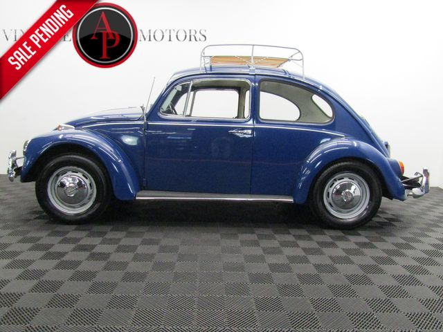 1967 Volkswagen Bug 2 OWNER RESTORED. ROOF RACK.