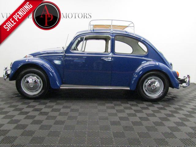 1967 Volkswagen Bug 2 OWNER RESTORED. ROOF RACK.