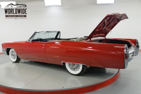 1968 Cadillac DEVILLE 472 V8 AUTOMATIC POWER TOP WIDE WHITE RADIAL | Denver, CO | Worldwide Vintage Autos in Denver, CO