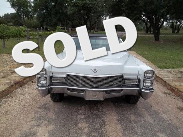 1968 Cadillac Sedar Deville Liberty Hill, Texas