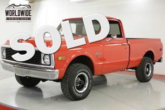 1968 Chevrolet C10  4x4! SHORT BED! V8! 4 SPEED PS C10/K10  | Denver, CO | Worldwide Vintage Autos in Denver CO