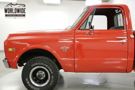 1968 Chevrolet C10  4x4! SHORT BED! V8! 4 SPEED PS C10/K10    Denver, CO   Worldwide Vintage Autos in Denver, CO