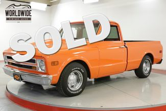 1968 Chevrolet C10  SHORT BED RESTOMOD PS PB DISC HOT ROD CHROME | Denver, CO | Worldwide Vintage Autos in Denver CO