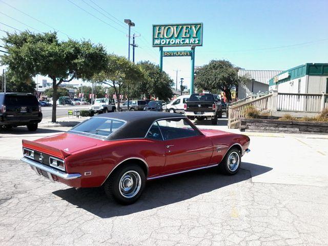 1968 Chevrolet Camaro 396 4 Speed SS TRIBUTE San Antonio, Texas 4