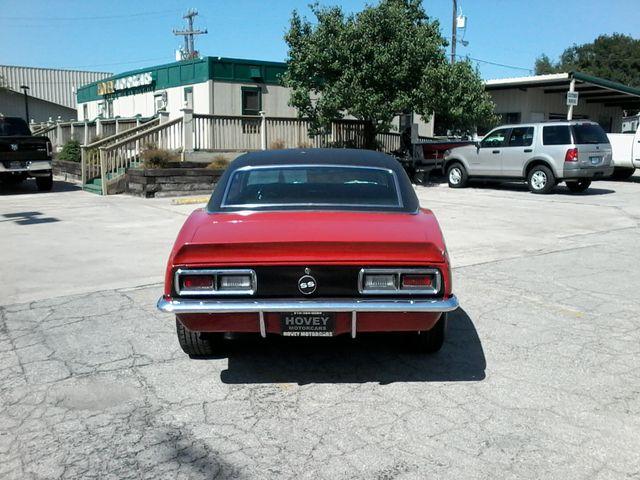 1968 Chevrolet Camaro 396 4 Speed SS TRIBUTE San Antonio, Texas 5