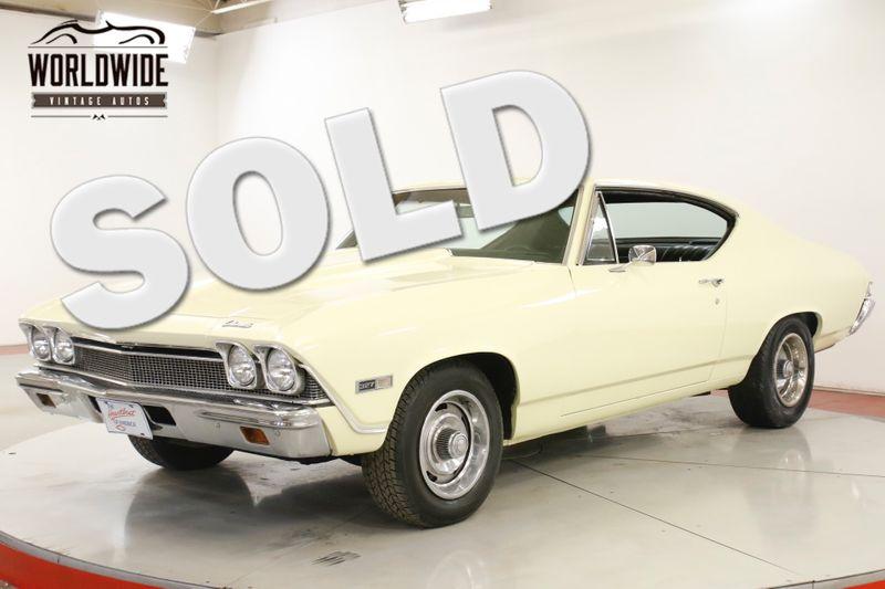 1968 Chevrolet CHEVELLE BUCKET SEATS HARDTOP RALLYE WHEELS NEW PAINT | Denver, CO | Worldwide Vintage Autos