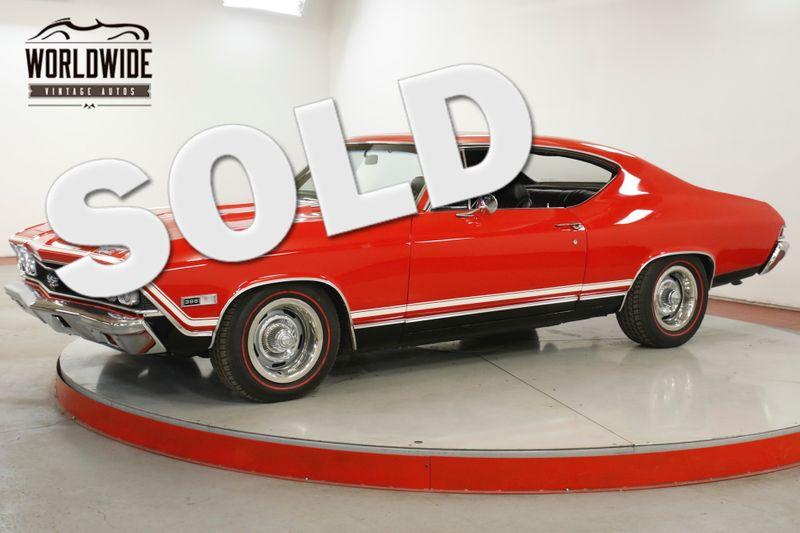1968 Chevrolet CHEVELLE  396 BIG BLOCK MUNCIE 4SPD VINTAGE  | Denver, CO | Worldwide Vintage Autos