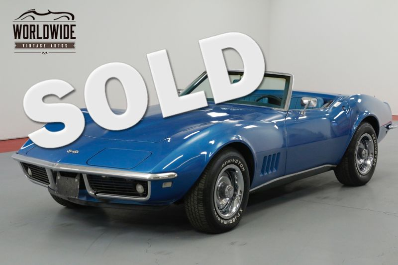 1968 Chevrolet CORVETTE RARE 4 SPEED V8 GREAT COLOR COMBO. MUST SEE  | Denver, CO | Worldwide Vintage Autos