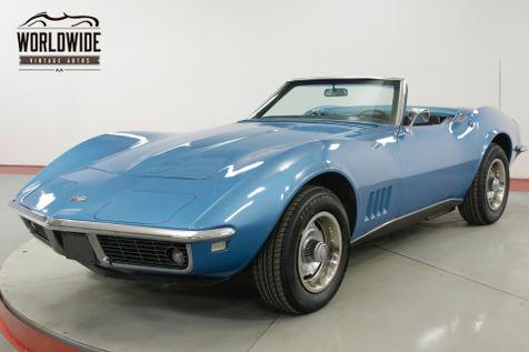 1968 Chevrolet CORVETTE  327/300 V8 4-SPEED CONVERTIBLE RALLYE WHEELS  | Denver, CO | Worldwide Vintage Autos in Denver, CO