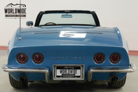 1968 Chevrolet CORVETTE  327/300 V8 4-SPEED CONVERTIBLE RALLYE WHEELS  | Denver, CO | Worldwide Vintage Autos in Denver, CO