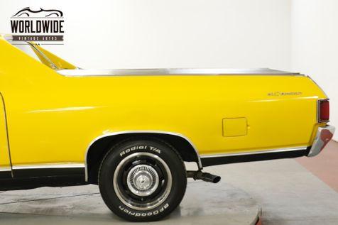 1968 Chevrolet EL CAMINO 396 AUTO A/C CHROME FRONT DISC DUAL EXHAUST  | Denver, CO | Worldwide Vintage Autos in Denver, CO