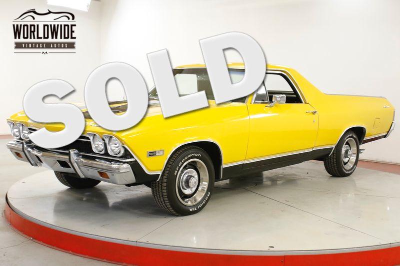 1968 Chevrolet EL CAMINO 396 AUTO A/C CHROME FRONT DISC DUAL EXHAUST  | Denver, CO | Worldwide Vintage Autos