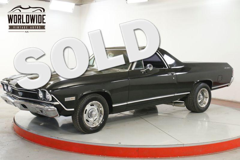 1968 Chevrolet EL CAMINO SS RESTOMOD 454 V8 AUTO CLEAN FAST COLLECTOR  | Denver, CO | Worldwide Vintage Autos