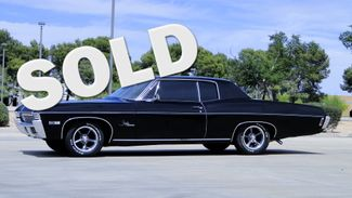 "1968 Chevrolet IMPALA SPORT COUPE FACTORY BLACK WITH AQUA INTERIOR ""RARE"" in Phoenix, Arizona 85027"