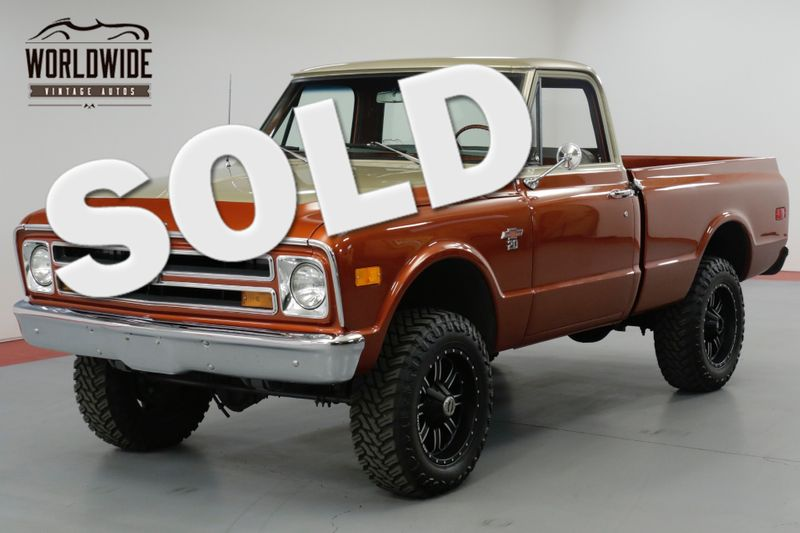 1968 Chevrolet K20 350V8 4-SPEED SHORT BOX RESTORED BEAUTY!  | Denver, CO | Worldwide Vintage Autos
