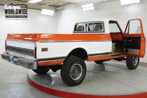 1968 Chevrolet K20  350 FITECH FUEL INJECTION 4SPD FRONT DISC  | Denver, CO | Worldwide Vintage Autos in Denver, CO