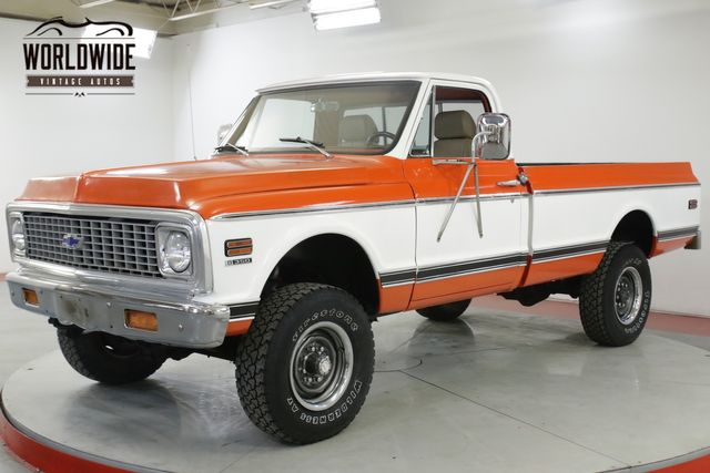 1968 Chevrolet K20  350 FITECH FUEL INJECTION 4SPD FRONT DISC  | Denver, CO | Worldwide Vintage Autos in Denver CO